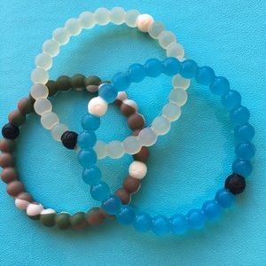 3 pack authentic Lokai bracelets
